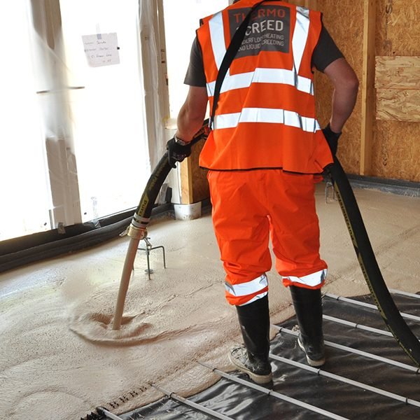 Liquid Floor Screeding