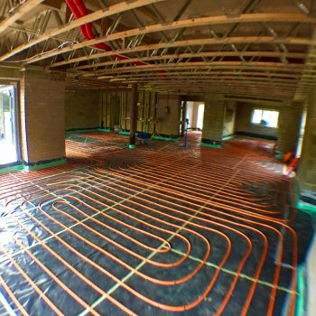 Thermoscreed UFH design