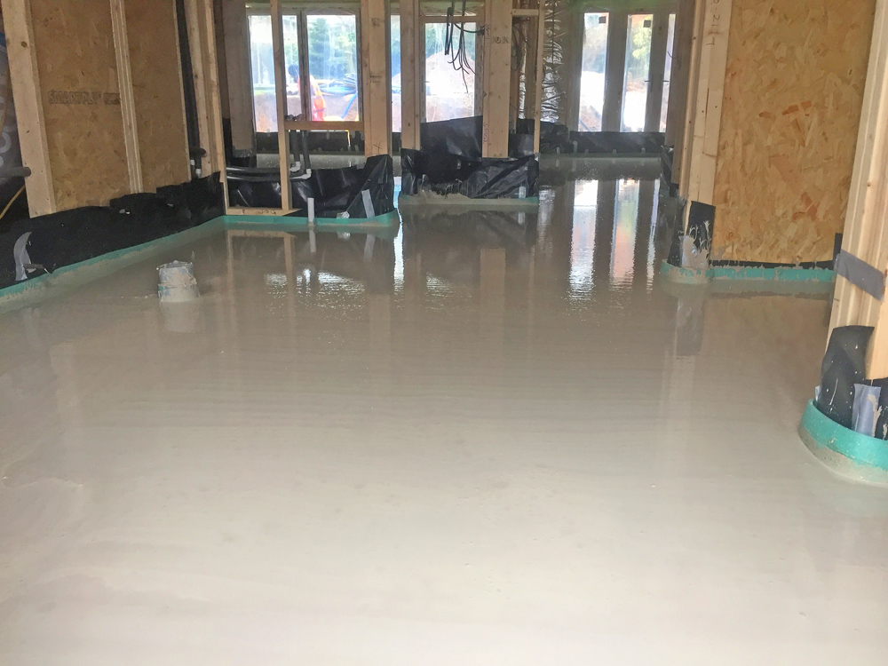 thermoscreed underfloor heating