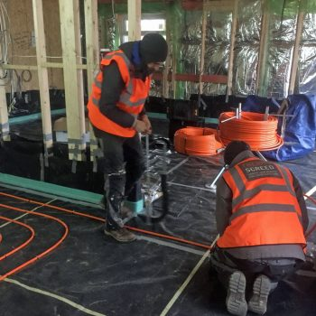 thermoscreed under floor heating