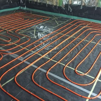 underfloor heating thermoscreed