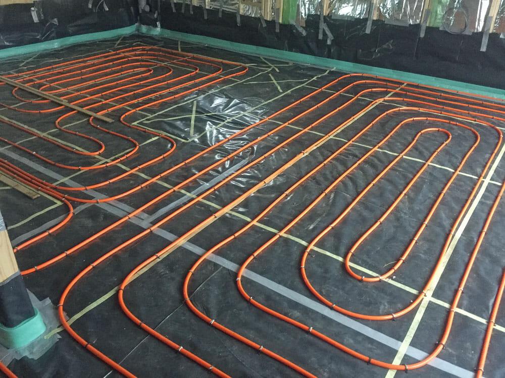 underfloor heating thermoscreed