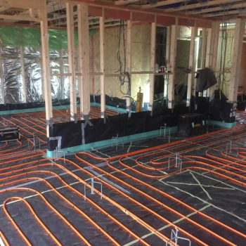 under floor heating thermoscreed
