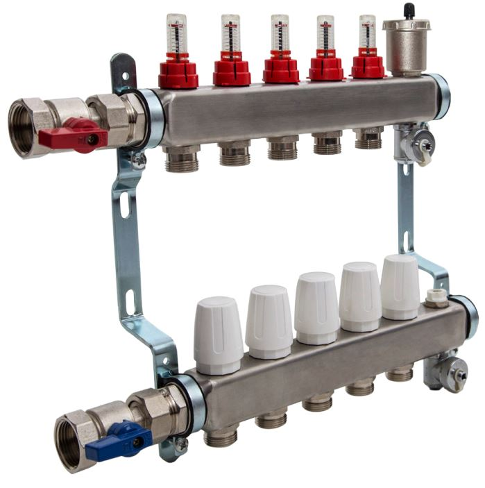 Thermoscreed manifold