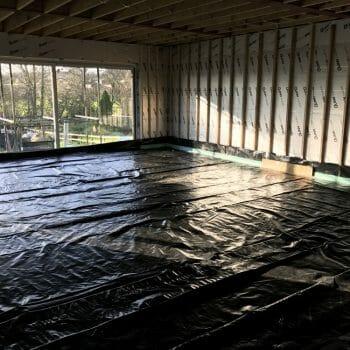 Thermo screed underfloor heating liquid screed laitance removal