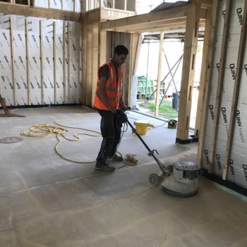 Thermo screed -laitance removal