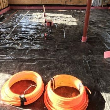 Thermo screed - floor preparataion