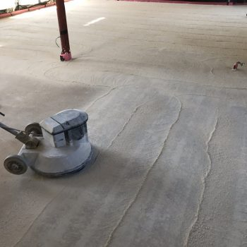 Thermo screed = Laitance removal