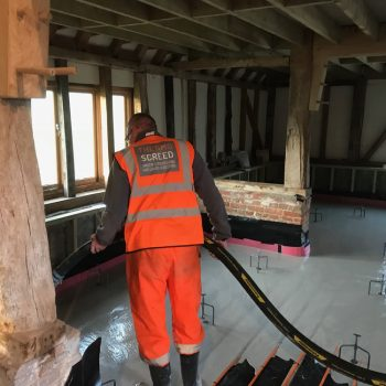 Thermo screed - liquid screed surrey